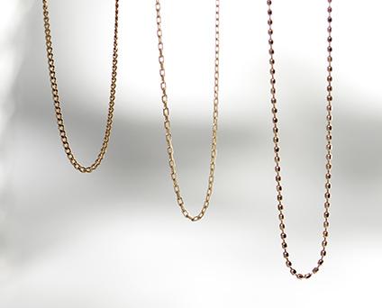 One Story Jewelleryのチェーン各種